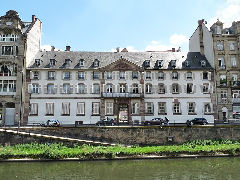 Photo du Monument Historique Ancien Hôtel de Neuwiller situé à Strasbourg