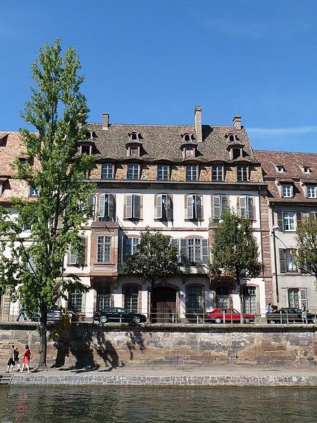 Photo du Monument Historique Ancien Hôtel Weitz situé à Strasbourg