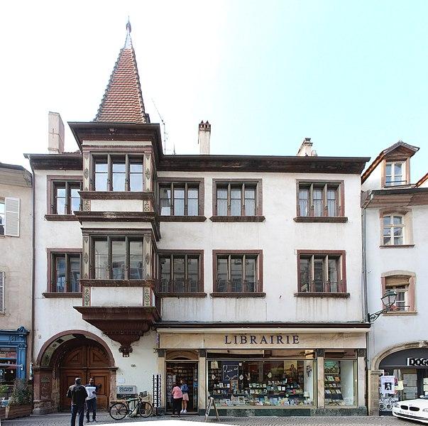 Photo du Monument Historique Ancien Hôtel des Zorn de Bulach situé à Strasbourg