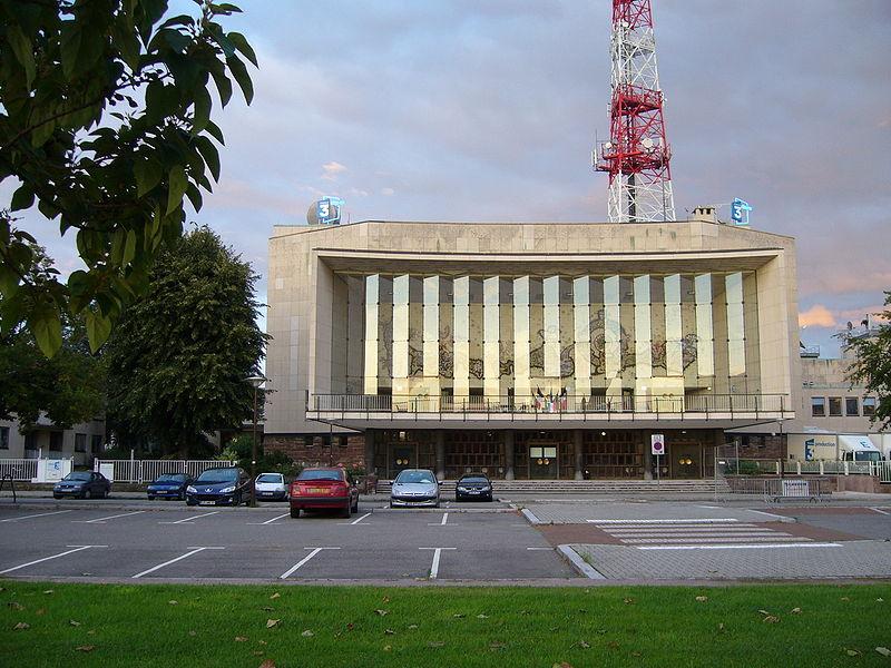 Photo du Monument Historique Maison de la Radio situé à Strasbourg