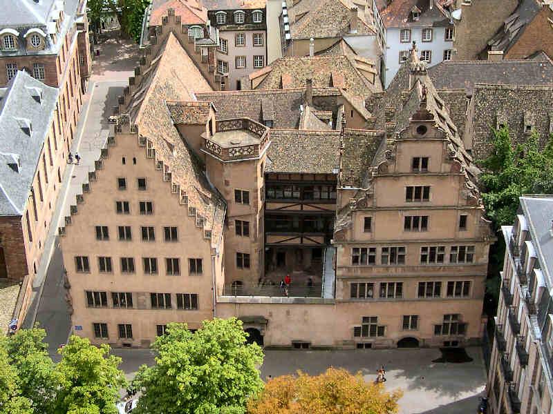 Photo du Monument Historique Ancienne Maison de l'Oeuvre-Notre-Dame situé à Strasbourg