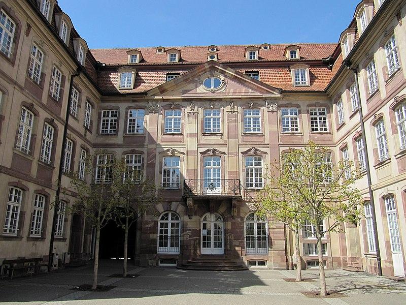 Photo du Monument Historique Ancien hôtel Hammerer dit Cour des Couples situé à Strasbourg