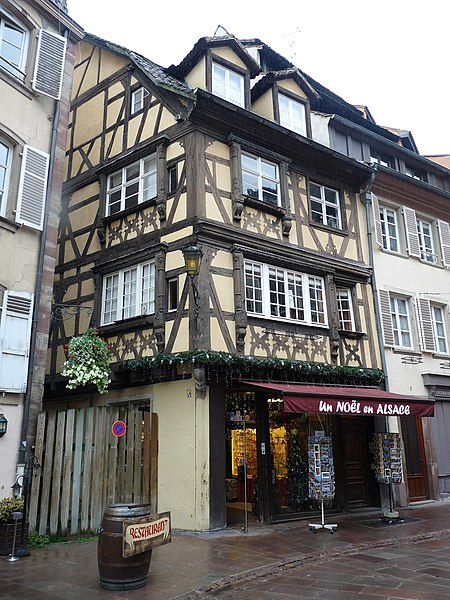 Photo du Monument Historique Maison du 16e siècle situé à Strasbourg
