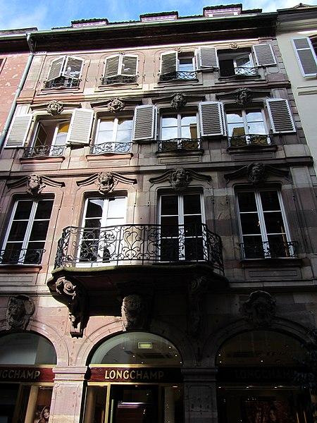 Photo du Monument Historique Maison Saré situé à Strasbourg