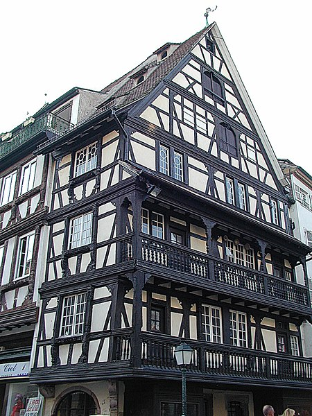 Photo du Monument Historique Maison situé à Strasbourg