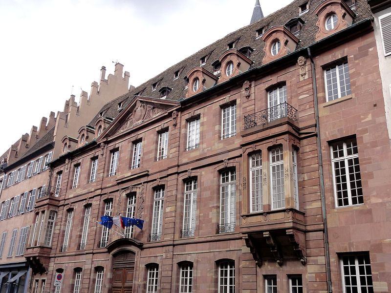 Photo du Monument Historique Immeuble situé à Strasbourg