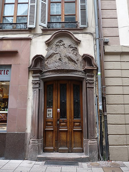 Photo du Monument Historique Maison dite Aux Cigognes situé à Strasbourg