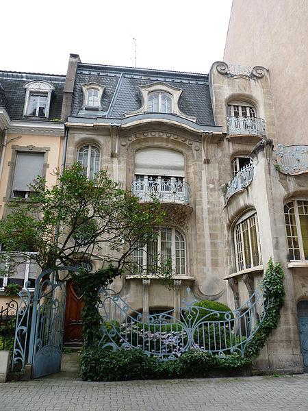 Photo du Monument Historique Hôtel Brion, puis pension de famille appelée Hôtel Marguerite situé à Strasbourg