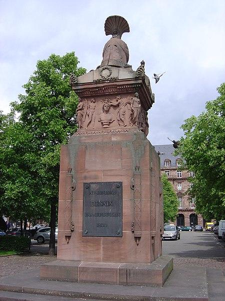 Photo du Monument Historique Monument du Général Desaix situé à Strasbourg