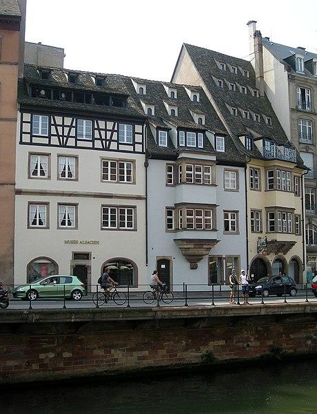 Photo du Monument Historique Musée alsacien situé à Strasbourg
