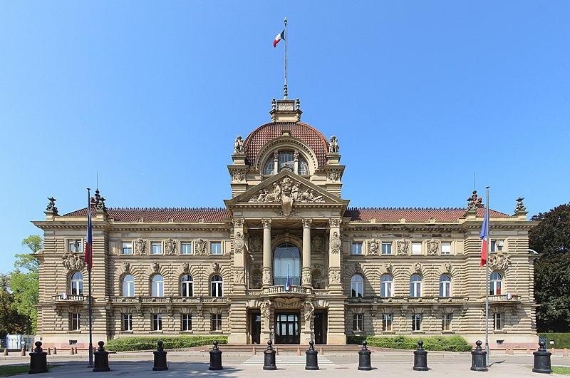 Photo du Monument Historique Ancien Palais impérial allemand ou Kaiserpalatz, dit Palais du Rhin situé à Strasbourg
