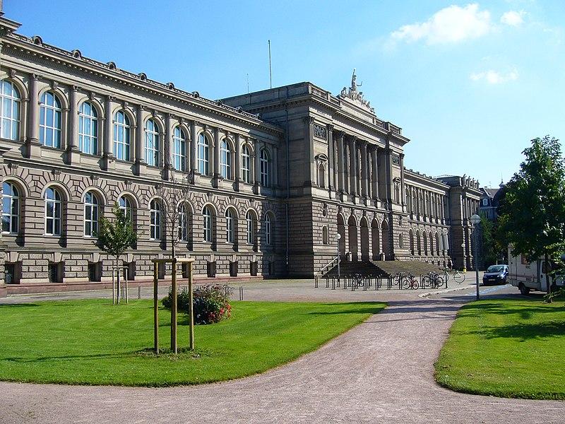 Photo du Monument Historique Palais Universitaire situé à Strasbourg
