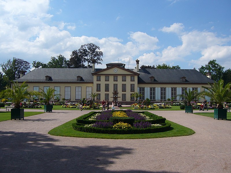 Photo du Monument Historique Parc de l'Orangerie situé à Strasbourg