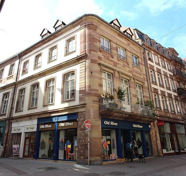 Photo du Monument Historique Ancien hôtel de la Tribu des Marchands ou Poêle du Miroir situé à Strasbourg