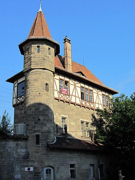 Photo du Monument Historique Poste d'aiguillage S.N.C.F. situé à Strasbourg