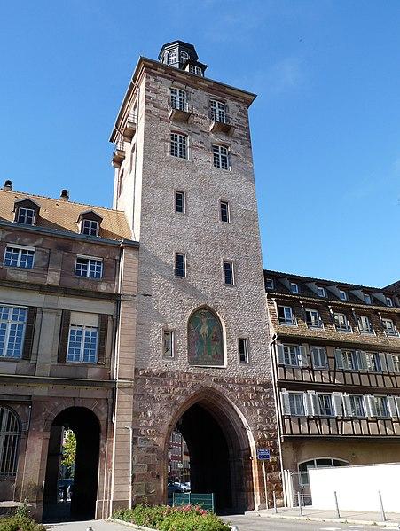 Photo du Monument Historique Tour situé à Strasbourg
