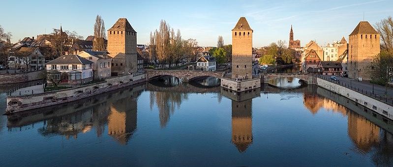 Photo du Monument Historique Ponts couverts situé à Strasbourg