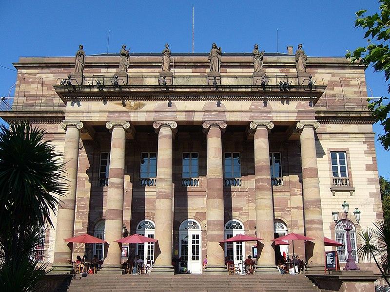 Photo du Monument Historique Théâtre municipal, actuellement Opéra du Rhin situé à Strasbourg
