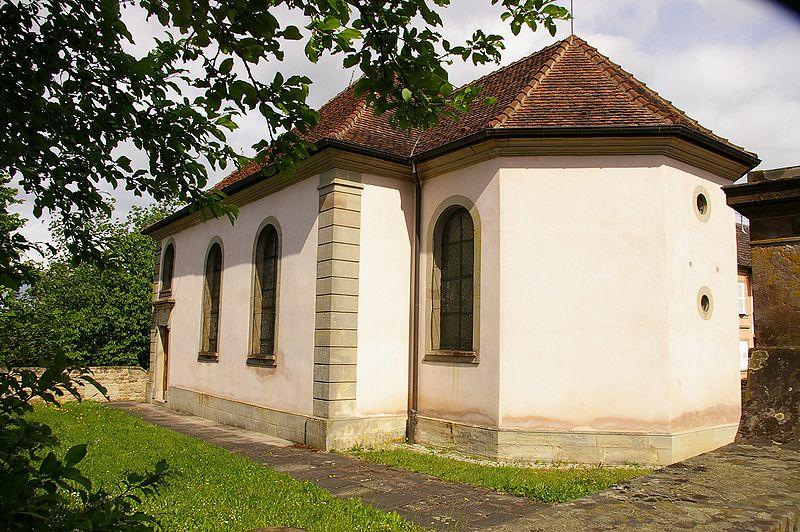 Photo du Monument Historique Synagogue situé à Struth