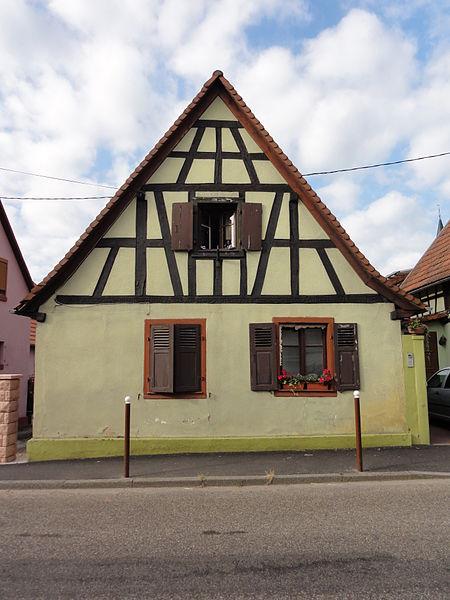Photo du Monument Historique Maison situé à Surbourg