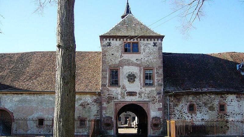 Photo du Monument Historique Château de Thanvillé situé à Thanvillé