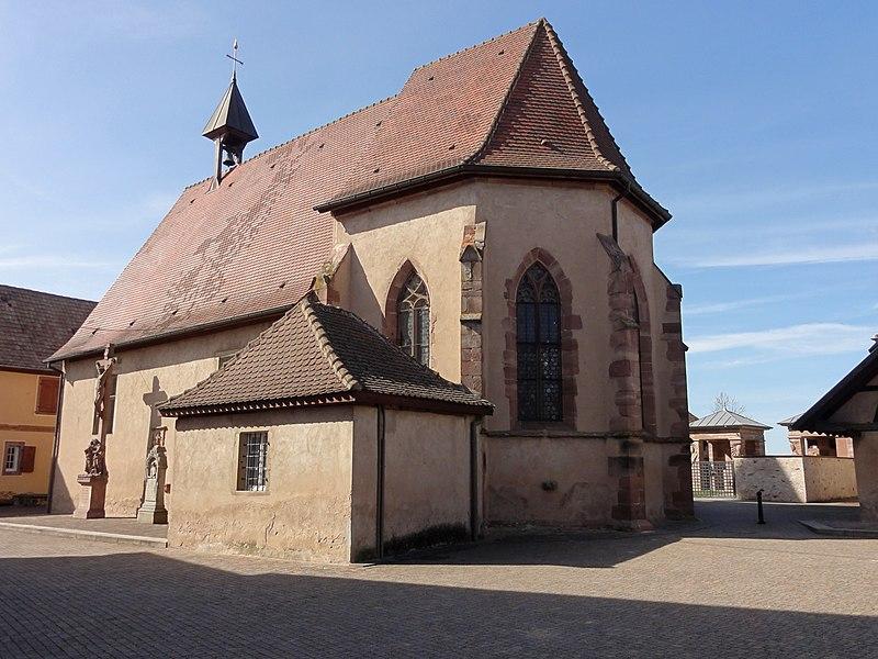 Photo du Monument Historique Chapelle Sainte-Marguerite situé à Valff