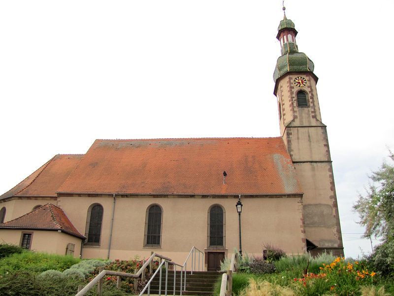 Photo du Monument Historique Eglise Saint-Blaise situé à Valff
