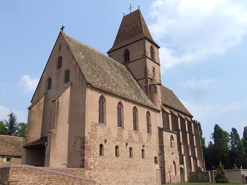 Photo du Monument Historique Abbaye Saint-Walburge£ situé à Walbourg
