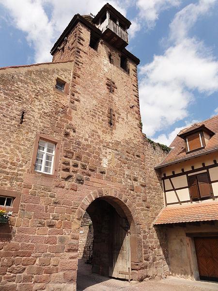 Photo du Monument Historique Anciennes fortifications situé à Wangen