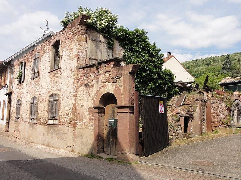 Photo du Monument Historique Maison situé à Wangen