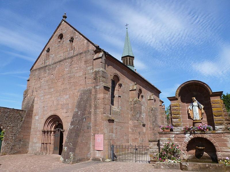 Photo du Monument Historique Ancien monastère d'Obersteigen situé à Wangenbourg-Engenthal
