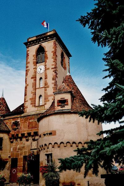 Photo du Monument Historique Restes de l'ancien château situé à Wasselonne