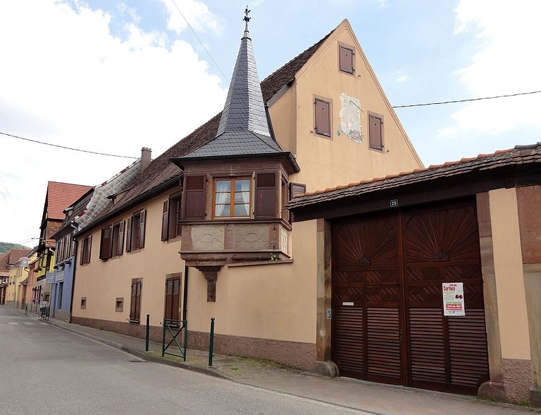Photo du Monument Historique Maison situé à Westhoffen