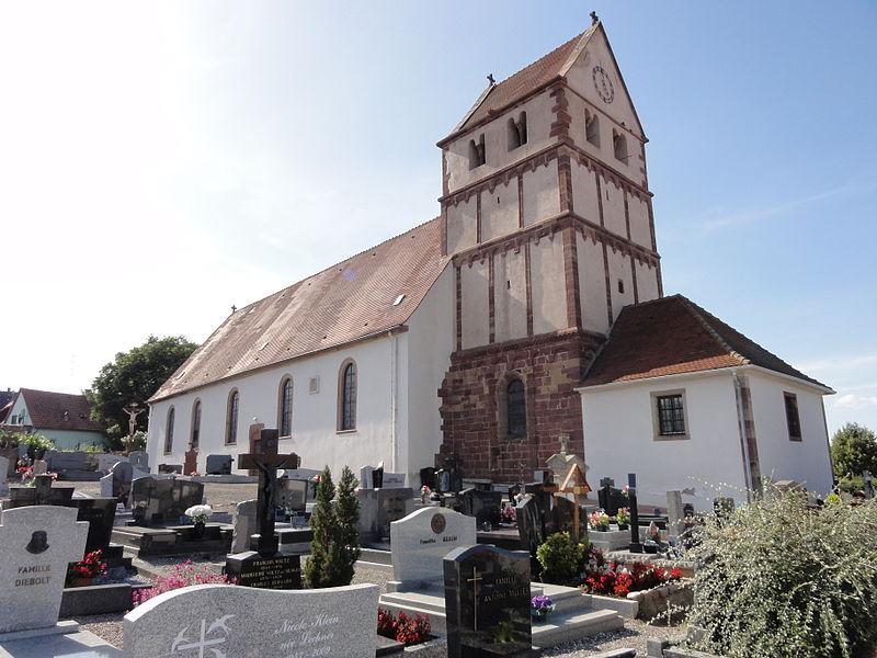 Photo du Monument Historique Eglise situé à Willgottheim