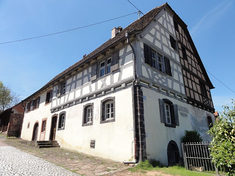 Photo du Monument Historique Maison et moulin à huile situé à Wimmenau
