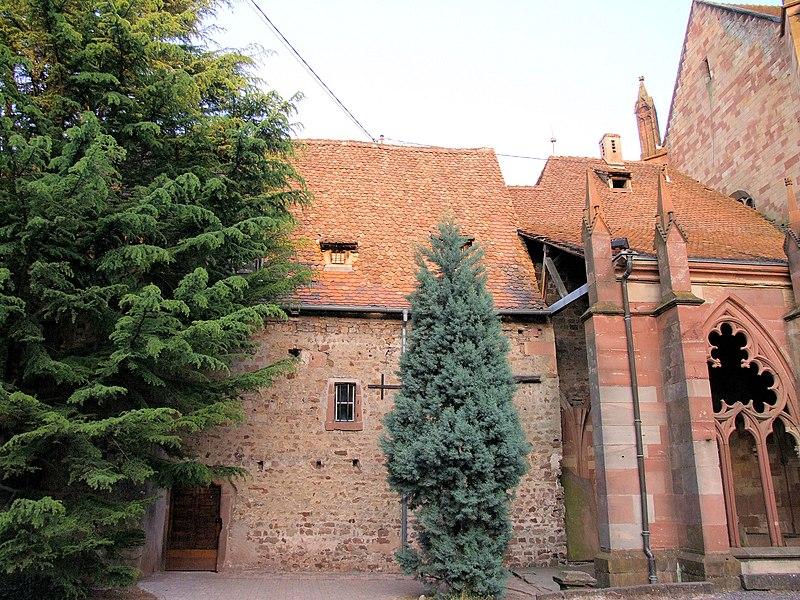 Photo du Monument Historique Chapelle Saint-Pierre-et-Paul situé à Wissembourg