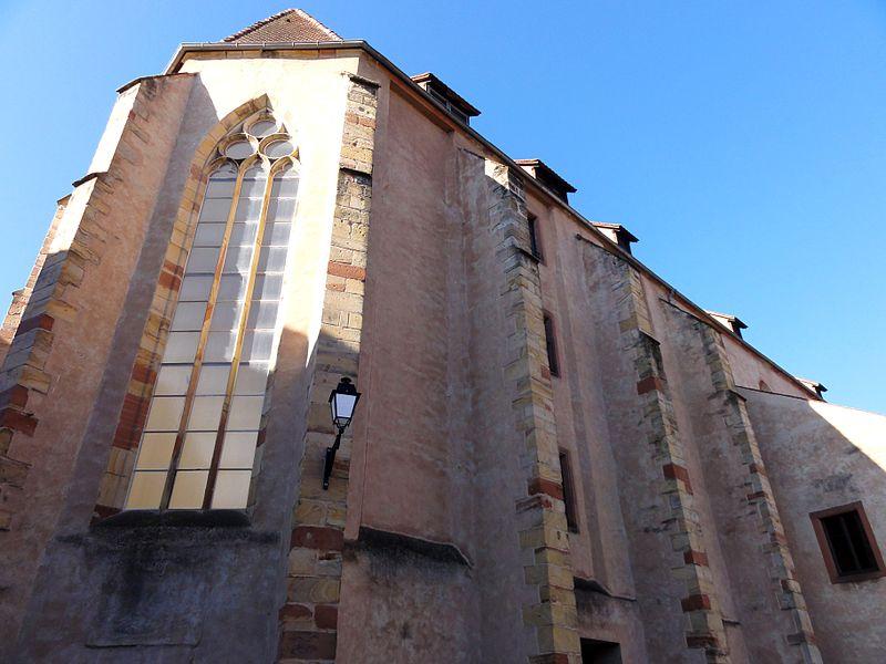 Photo du Monument Historique Ancienne église des Dominicains situé à Wissembourg
