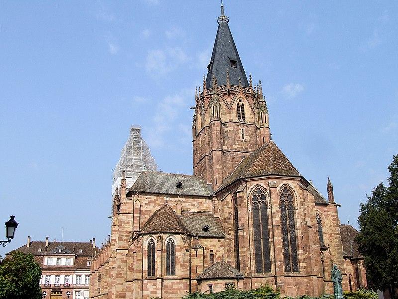 Photo du Monument Historique Eglise Saints-Pierre-et-Paul situé à Wissembourg