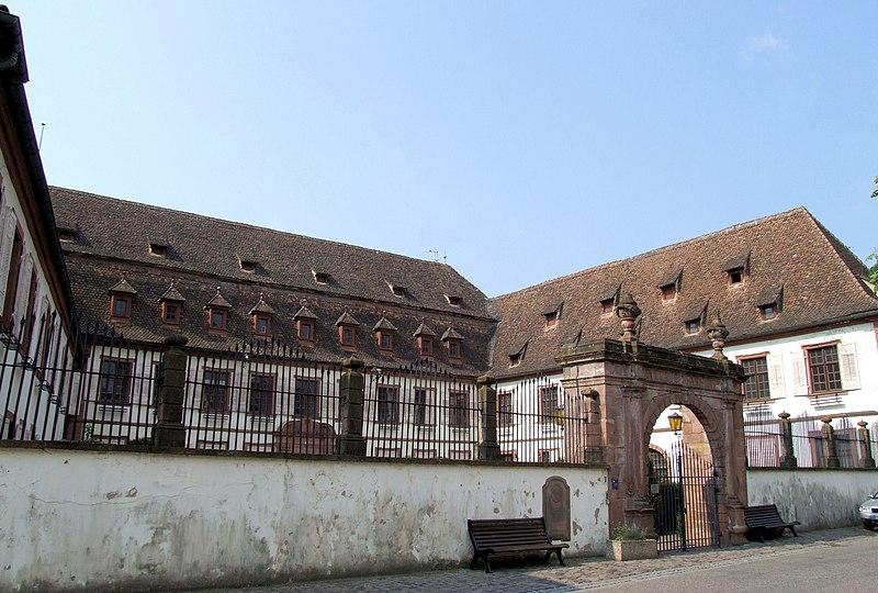 Photo du Monument Historique Hôpital Stanislas situé à Wissembourg