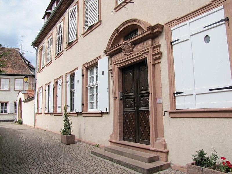 Photo du Monument Historique Ancien hôtel du prêteur royal Von Neubeck situé à Wissembourg