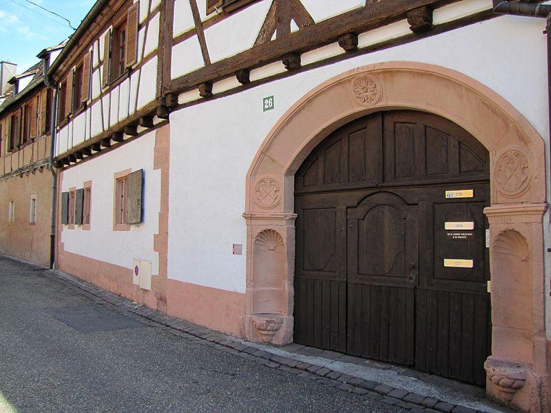 Photo du Monument Historique Maison Kobold situé à Wissembourg