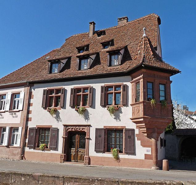 Photo du Monument Historique Ancienne Maison des Tanneurs situé à Wissembourg