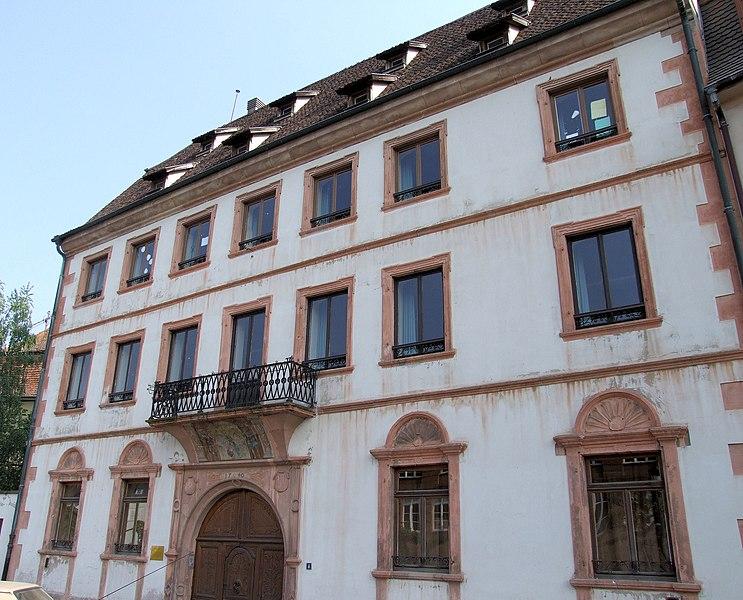 Photo du Monument Historique Maison Vogelsberger situé à Wissembourg
