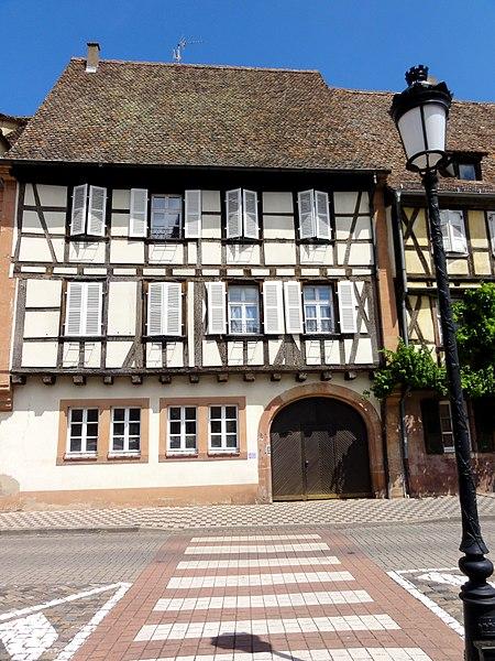 Photo du Monument Historique Maison Wagenführer situé à Wissembourg