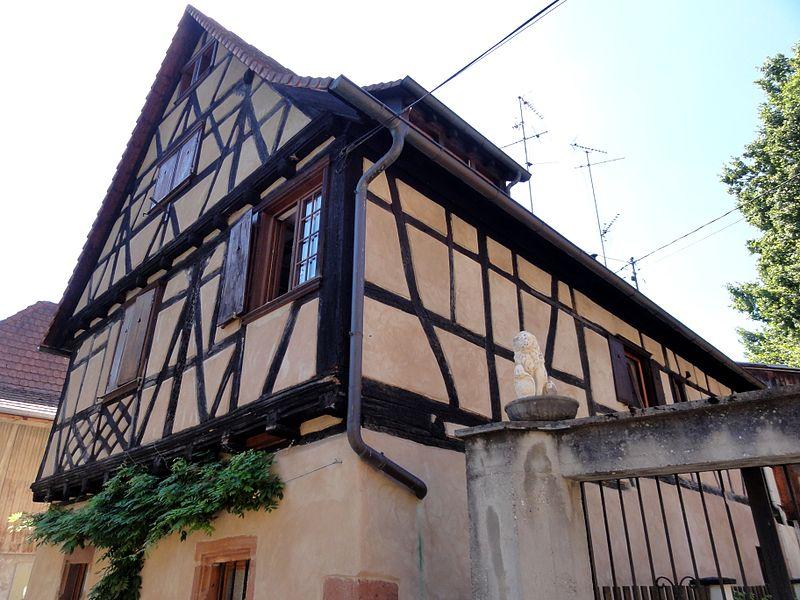 Photo du Monument Historique Maison situé à Wissembourg