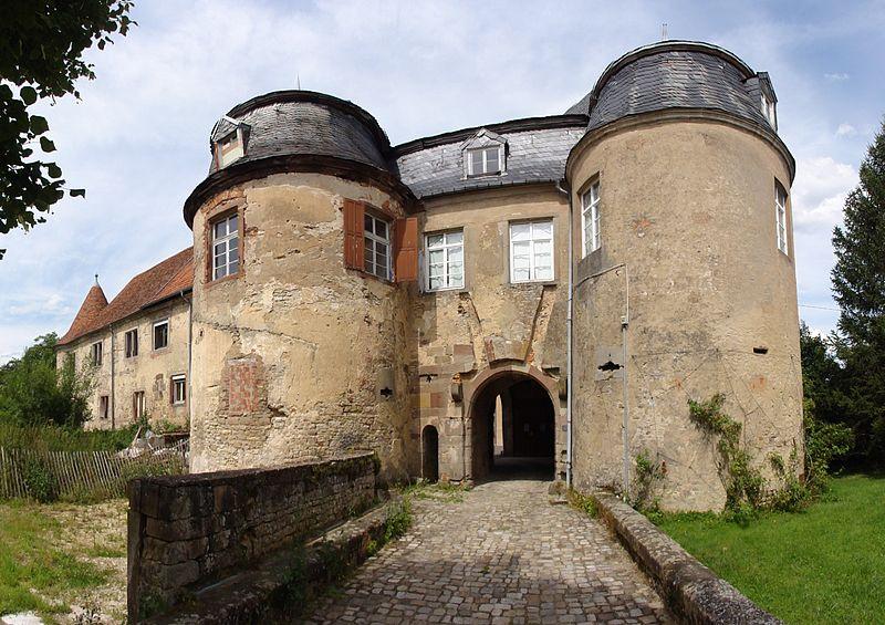 Photo du Monument Historique Château situé à Lorentzen