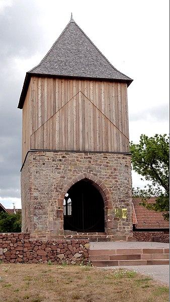 Photo du Monument Historique Ancienne léproserie situé à Reichshoffen