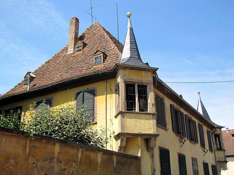 Photo du Monument Historique Maison dite le Châtelet situé à Benfeld