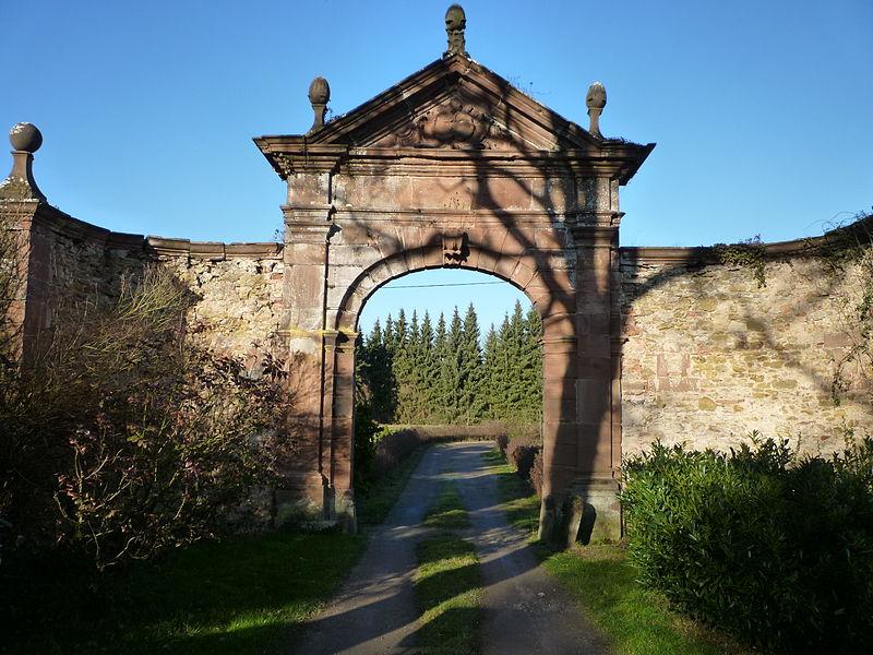 Photo du Monument Historique Vestiges du couvent cistercien de Neubourg situé à Dauendorf