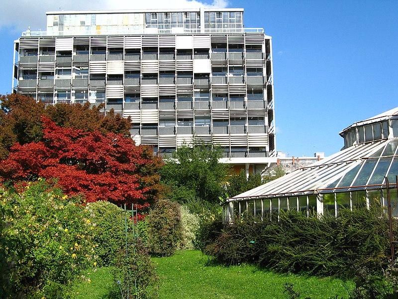 Photo du Monument Historique Jardin botanique situé à Strasbourg